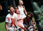 зомби, парад, видео, молодежь