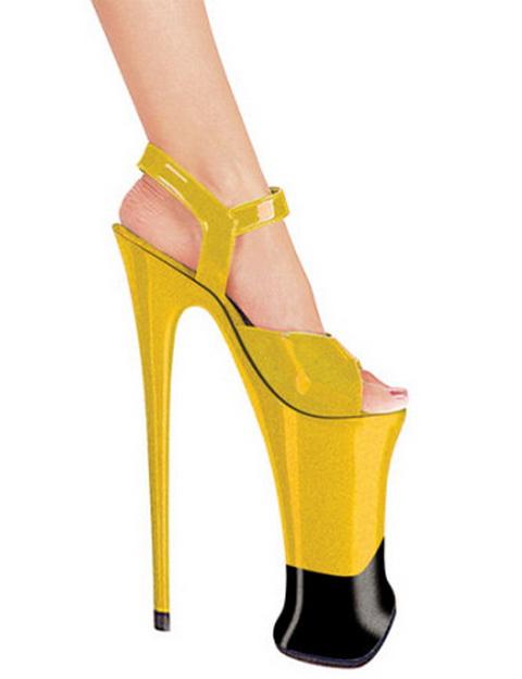 Самые красивые туфельки на шпильках