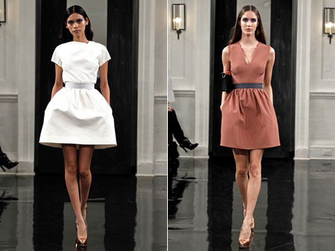 Мода от Виктории Бекхэм: новая коллекция осень-зима 2010/2011.