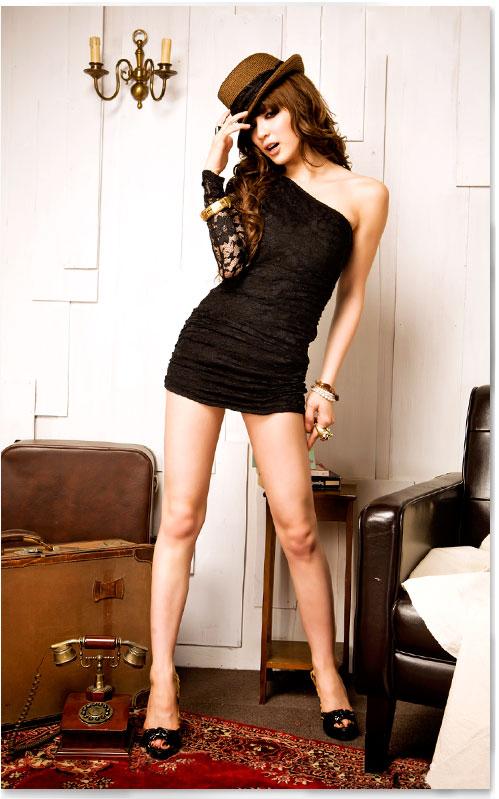 Выкройка маленького черного платья своими руками