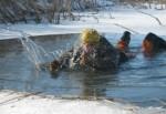 Как под Харьковом спасали ушедших под лед