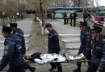 В центре Харькова горела школа. В городе прошли учения