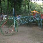 Знаменитый «вертолет» в парке Молодежном решено реставрировать