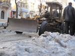 Улицы Харькова избавляются от ледяных валов
