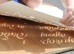 Трафарет-акция «Лава-Слово» в литературном музее