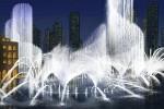 дубаи, фонтан,