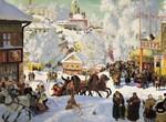 Во времена язычества Масленица была праздником проводов зимы