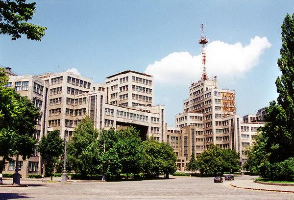 Площадь Независимости и Госпром