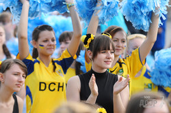 Cамый массовый в Украине флешмоб к Евро-2012