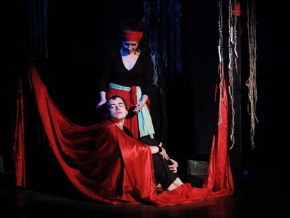 Театр «Green Magic» рассказал харьковским зрителям притчу о Первозданной Женщине