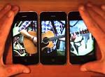 Креативный клип, созданный с помощью трех телефонов