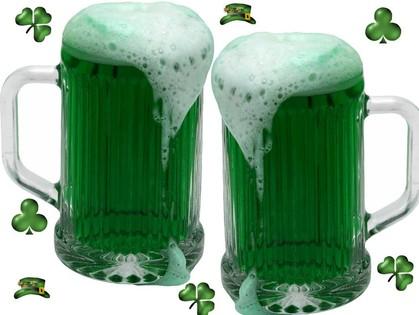 В День Святого Патрика обязательно нужно выпить пива