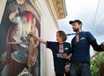 У Львові створено арт-галерею під відкритим небом «Вікна в минуле»