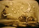 Детская песочная анимация и взрослая живопись на шелке: в «Бузке» откроются 2 выставки