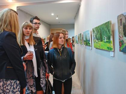 Выставка «Украина-Франция» Алексея и Екатерины Борисовых
