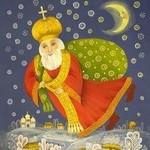 Святой Николай детишкам подарки принес