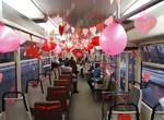 В Харькове 14 февраля будет курсировать Трамвай влюбленных