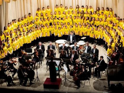 Дети для детей: В ХНАТОБ состоится уникальный благотворительный концерт хора из 300 юных харьковчан