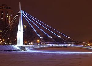 Харьков с высоты — набережная реки Харьков