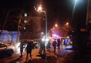 В центре города из-за угрозы взрыва эвакуировали людей (ФОТО)
