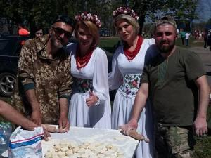 Фестиваль в Пархомовке. Обратная сторона медали