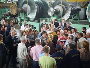 Светличная: На «Турбоатоме» формируются перспективные экспортные контракты (ФОТО)