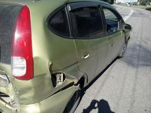 В ДТП на Деревянко пострадал водитель иномарки (ФОТО)