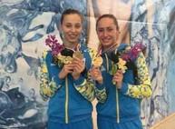 Харьковские синхронистки завоевали пятую бронзовую медаль на чемпионате мира
