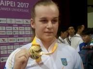 Харьковчанка Ирина Деха установила рекорд Всемирной универсиады