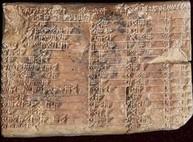 Древние письмена на глине оказались тригонометрической таблицей