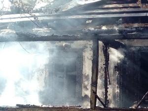 В Балаклейском районе в пожаре заживо сгорел пенсионер (ФОТО)