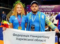 В чемпионате мира по возрожденной античной борьбе победила харьковская курсантка