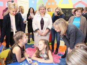 В харьковском университете открылась первая детская комната / Фото