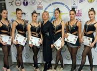 Харьковчанки достойно выступили на Кубке Украины по черлидингу