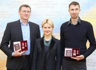 Светличная вручила награду харьковскому олимпийцу
