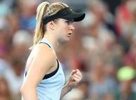 Свитолина во второй раз подряд вышла в полуфинал турнира в Брисбене