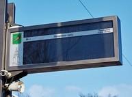Первое в Харькове электронное табло установили рядом с парком Горького (ФОТО)