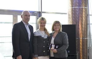 Директор отеля Ярославского в Харькове получила Орден княгини Ольги