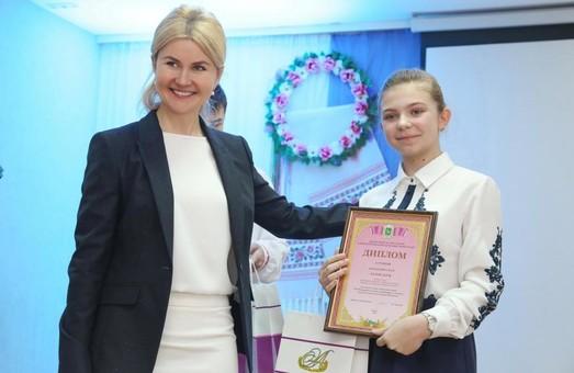 Светличная передала дипломы лучшим знатокам украинского языка на Харьковщине