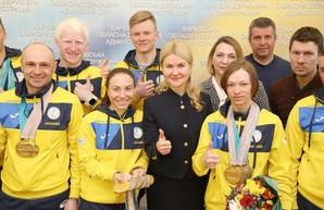 Светличная - харьковским паралимпийцам: Вы сделали все для того, чтобы гимн Украины звучал на мировом уровне