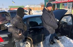 На Харьковщине СБУ задержала на взятке подполковника полиции (ФОТО, ВИДЕО)