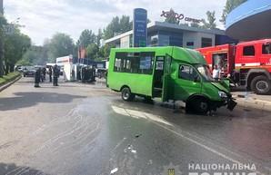 ДТП с маршруткой в Харькове: новые подробности (ФОТО, ВИДЕО)