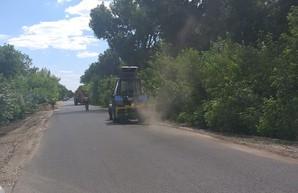 Ремонт дорог на Харьковщине:  уже выполнено более половины от запланированных работ