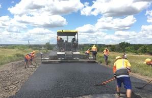 На дорогах Харьковщины продолжает ремонт (ФОТО)