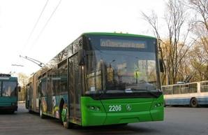 Троллейбус без двери возил харьковчан (ВИДЕО)