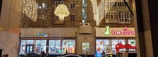 Харьковчан возмутили ямы на дорогах в нескольких метрах от «Звездного неба» (ФОТО)