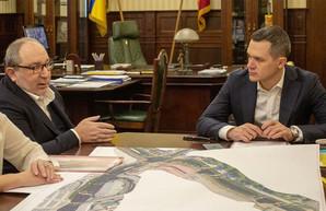 «Убираем эмоции». Кучер обсудил с Кернесом строительство трассы через Барабашово