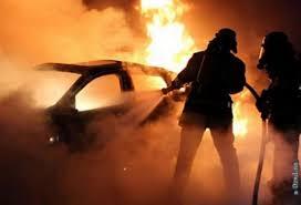 Ночью в Харькове сожгли Land Cruiser