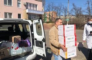 Харьковская областная клиническая инфекционная больница получила помощь от предпринимателей