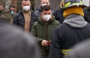 Харьковский пожарный получил государственную награду за участие в тушении пожара в Чернобыльской зоне